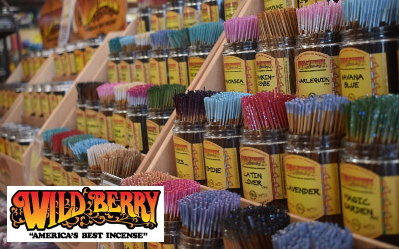Malmar is proud to be the exclusive distributor for Wild Berry Incense in Australia