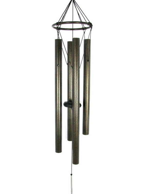 "85CM CLASSIC BRONZE TUNED 4 TUBE WIND CHIME ""NATURES MELODY"""