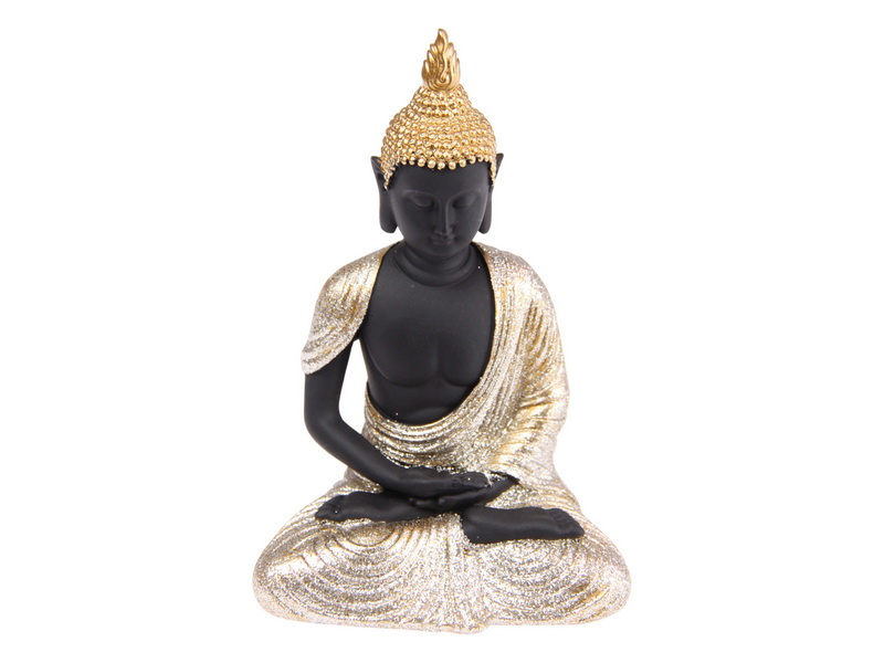 12CM RULAI BUDDHA WITH GOLD ROBE