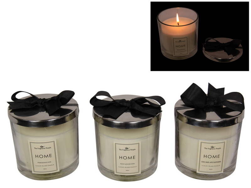 10CM HOME SCENTED CANDLE 3 ASSTD IN GIFT BOX