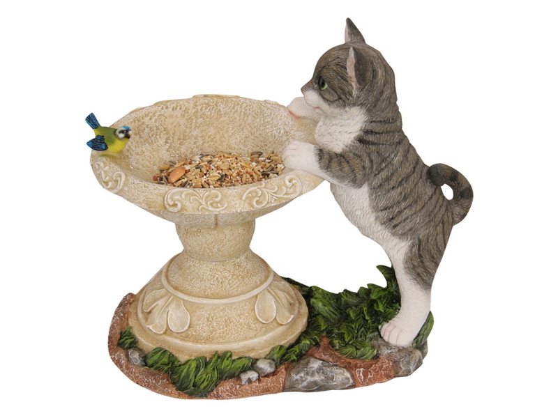 30CM CAT BIRD FEEDER