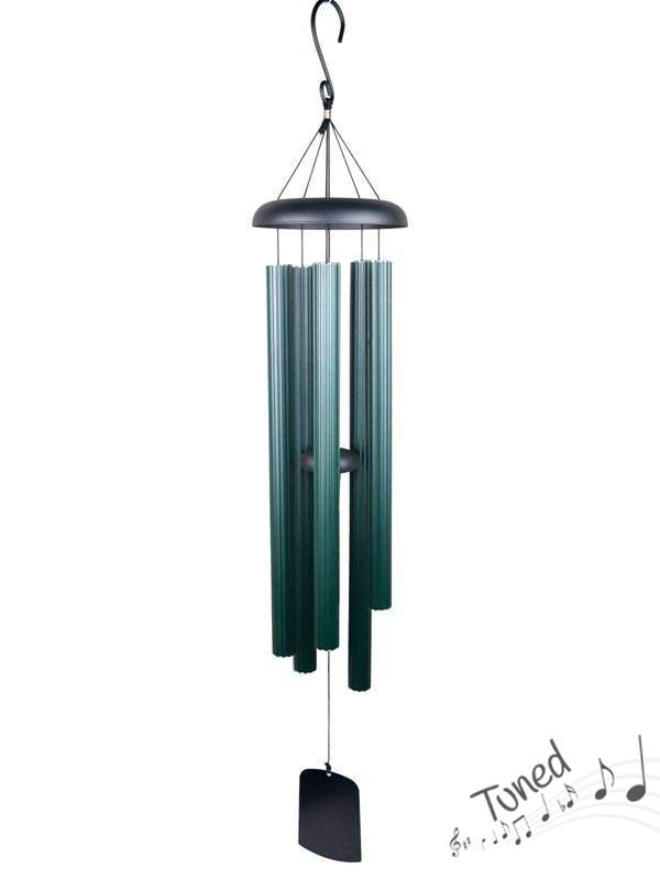 112CM GREEN COLUMN HARMONIOUS TUNED WIND CHIME