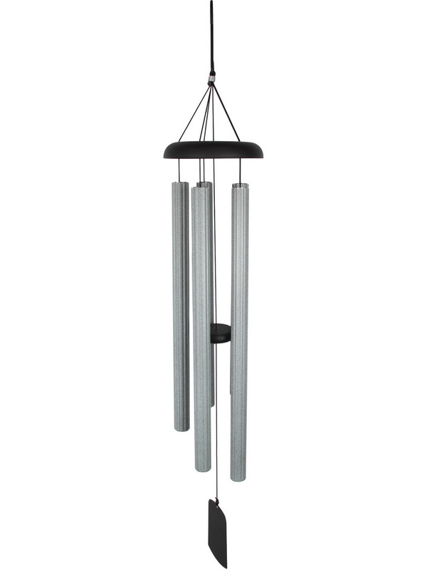 112CM SILVER GREY HARMONIOUS TUNED CHIME