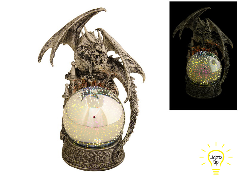 31CM DRAGON LORD OF THE ORB (LIGHTS UP)