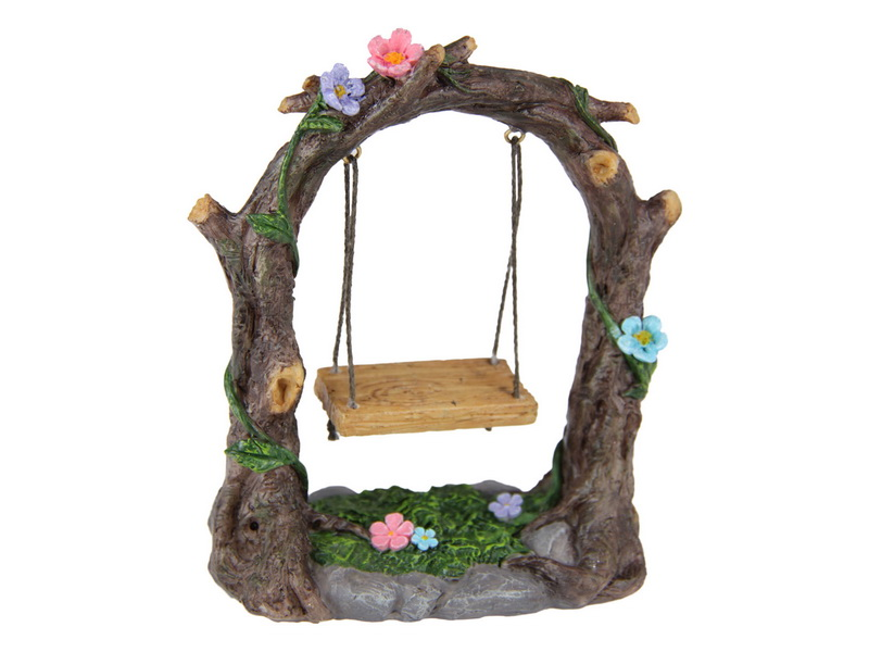 11CM FAIRY GARDEN SWING WITH SEAT