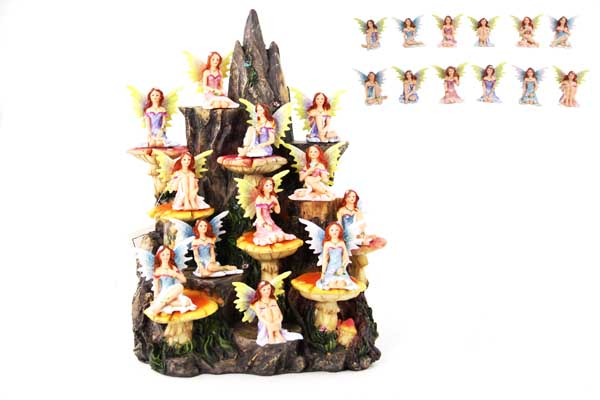 5CM FAIRY ON FREE MOUNTAIN DISPLAY 12 ASSTD (48=FREE DISPLAY)