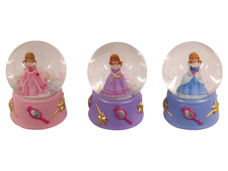 45MM PRINCESS WATERBALL 3 ASSTD