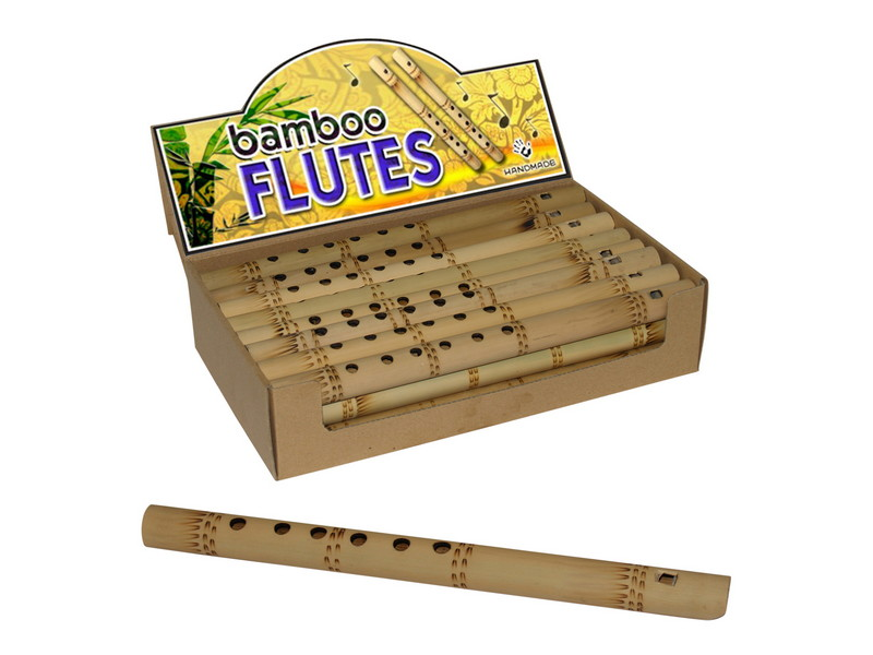 (G/BOX) 31CM BAMBOO FLUTE IN DISPLAY BOX