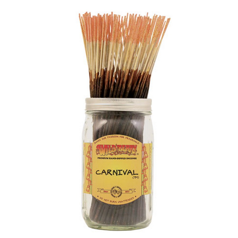 11/28CM WILD BERRY INCENSE CARNIVAL (200=FREE JAR)