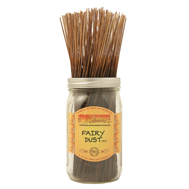 11/28CM WILD BERRY INCENSE FAIRY DUST (200=FREE JAR)