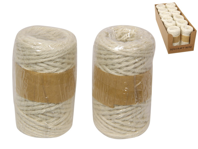 20 METRES DIY MACRAME CRAFT ROPE IN DISPLAY BOX