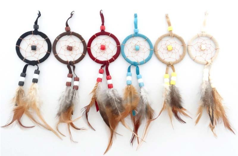 5CM NATURAL DREAM CATCHER MAGNET