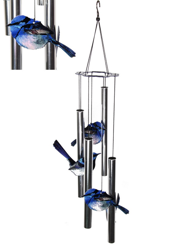 FAIRY WREN 4 TUBE WIND CHIME